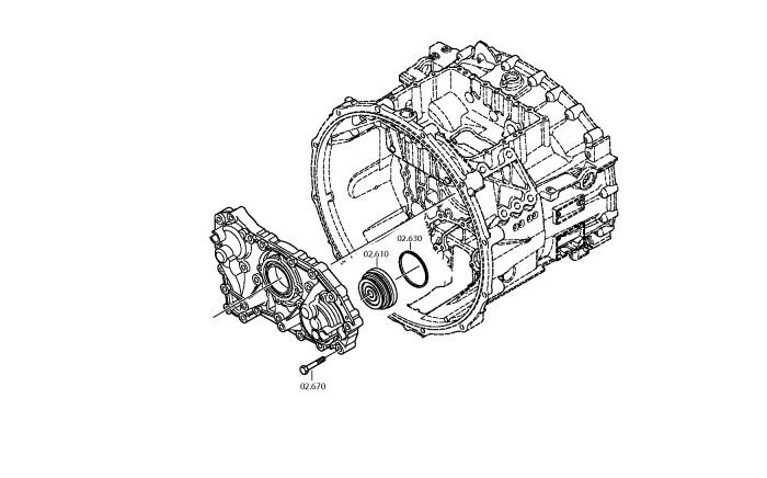 MF12-MF14 Ruko 2423810 Porta cojinetes DIN 225 N/º 38